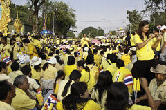 Fira fader dag @ 5 December 2012_Thailand Royaltyfri Foto