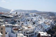 Fira, Grecia Fotografie Stock