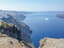 Fira in Greece Royalty Free Stock Photos