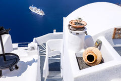 FIRA GREECE-SEPTEMBER, 02,2014 Royaltyfria Bilder