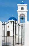 Fira. Greek church. Royalty Free Stock Images