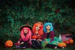 fira halloween Royaltyfri Bild