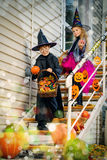 fira halloween Arkivfoto