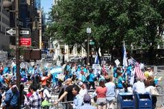 2014 fira Israel Parade Arkivfoto