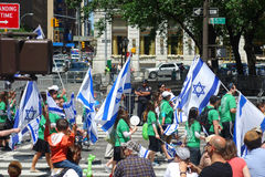 2014 fira Israel Parade Arkivfoton