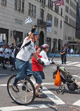 2015 fira Israel Parade i New York City Arkivbilder
