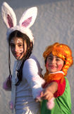 fira judisk purim för ferie royaltyfri bild