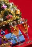 fira jul Arkivbilder