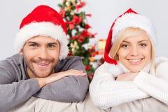 Fira jul tillsammans. Arkivfoto