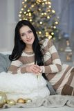 fira julkvinna Royaltyfri Fotografi
