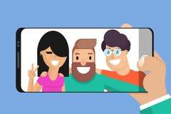 Fira kamratskapdagbegrepp vektor illustrationer
