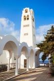 Fira Orthodox Metropolitan Cathedral Stock Photos