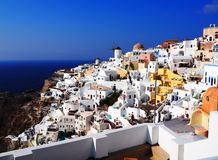 Fira, Santorini photo stock