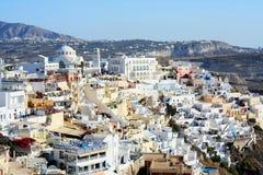 Fira - Santorini Royalty-vrije Stock Afbeelding