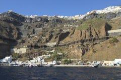 Fira, Santorini Photos libres de droits