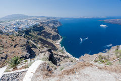 Fira Santorini Photo stock