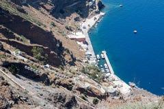 Fira Santorini Стоковое Фото