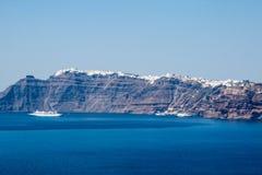 Fira Santorini Стоковые Изображения RF