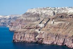 Fira Santorini Стоковая Фотография RF