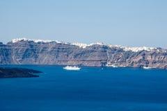 Fira Santorini Стоковое Изображение