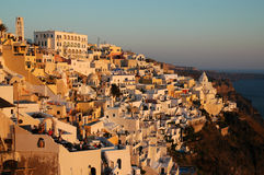 Fira Santorini Fotografia Stock Libera da Diritti