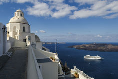 Fira Santorini Royalty Free Stock Photos