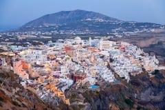 Fira, Santorini Stock Images