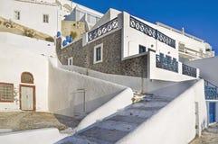 Fira in Santorini, Greece Stock Image