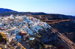 Fira Santorini Greece Stock Photo