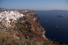 Fira, Santorini Greece Royalty Free Stock Images