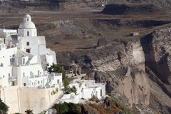 Fira, Santorini Greece Royalty Free Stock Photos
