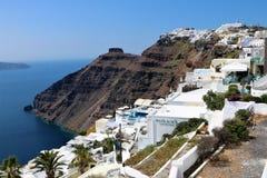 Fira, Santorini, Greece Stock Photos