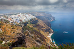 Fira Santorini Greece Royalty Free Stock Image