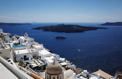 Fira, Santorini, Greece Royalty Free Stock Photography