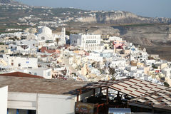 Fira, Santorini Greece Stock Image