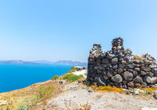 Fira - Santorini island,Crete,Greece. Royalty Free Stock Photos