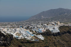 Fira on Santorini island Royalty Free Stock Image