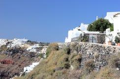 Fira on Santorini Island. The Cyclades, Greece. Royalty Free Stock Image
