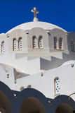 Fira Santorini Island Greece Europe Stock Photography
