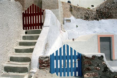 Fira Santorini Island, Greece. Royalty Free Stock Images