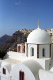 Fira Santorini Island, Greece. Royalty Free Stock Photos