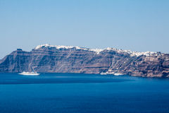Fira Santorini Royalty Free Stock Images
