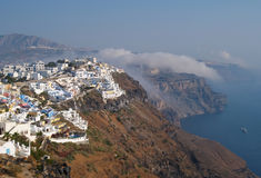 Fira in Satorini, Greece Royalty Free Stock Photo