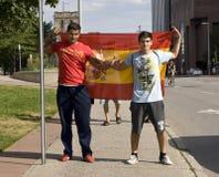 fira spanska ventilatorer Royaltyfria Bilder