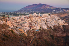 Fira (Thera) town, Santorini - Greece Royalty Free Stock Image