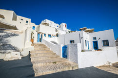 Fira, Thira town, Santorini Cyclade islands, Greece Royalty Free Stock Photos