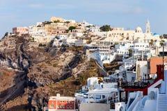 Fira town, Santorini island Royalty Free Stock Photo