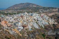 Fira town, Santorini Stock Images