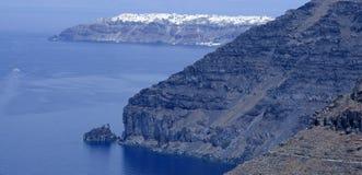 Fira town at Santorini island Royalty Free Stock Photo