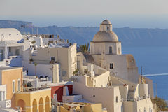 Fira town on Santorini Royalty Free Stock Image